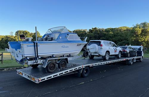 car transport Queensland